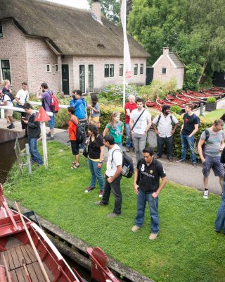Excursion to Giethoorn in 2014