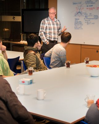 Dine & Discuss evening with a Christian Entrepreneur at a Delft Engineering Firm